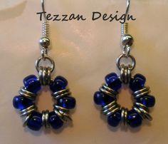 Cute Earrings with Miyuki Beads