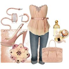 I need to lose 30 more pounds, so I can wear this outfit....super cute!! <3