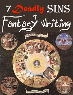 7 Deadly Sins of Fantasy Writing - Author J.S. Morin  Yes, yes, yes, read and learn, mr G. R. R. Martin!