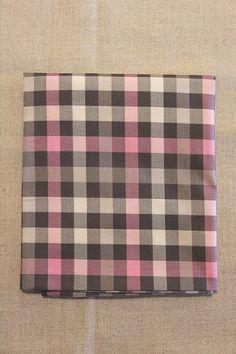 NA040 xadrez cinza e rosa - As cores dos produtos podem sofrer pequenas variações em função do monitor