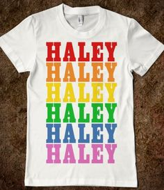 Rainbow Haley Shirt