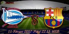 Prediksi bola akurat, Likeprediction.com - Dalam laga pertandingan kali ini akan mempertemukan dua kesebelasan yaitu Alaves yang akan berhadapan dengan Barcelona yang mana pertandingan tersebut akan berlangsung pada Sabtu tanggal 11 Februari 2017 pukul 22.15 wib hari ini di Mendizorroza.   #Prediksi Alaves vs Barcelona