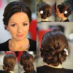 Blair Waldorf Wedding Hair Updo image information
