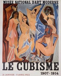Buy online, view images and see past prices for Pablo Picasso - Le Cubisme - Invaluable is the world's largest marketplace for art, antiques, and collectibles. Elements Of Art Texture, Texture Art, Black And White Posters, Black And White Painting, Pablo Picasso, Picasso Cubism Paintings, Most Famous Paintings, Art Moderne, Exhibition Poster