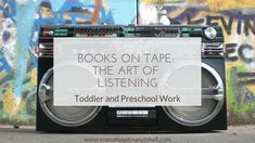 Books on Tape: the art of listening