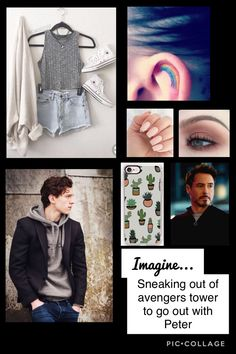 I don't understand the thing whit the rainbow but i would do it. Marvel Films, Marvel Jokes, Marvel Characters, Spiderman Girl, Parker Spiderman, Marvel Universe, Marvel Inspired Outfits, Text Imagines, Tom Peters
