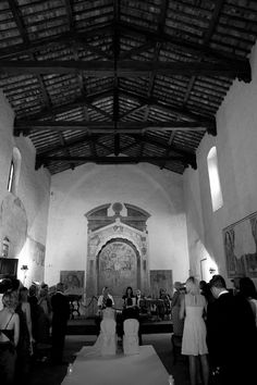 Certaldo's deconsecrated church for blessings or civil ceremonies