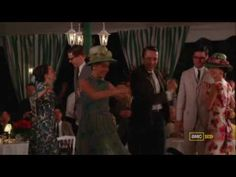 I love this scene!  Pete and Trudy Campbell do the Charleston.