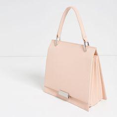 Image 3 of MINI EMBOSSED CITY BAG from Zara