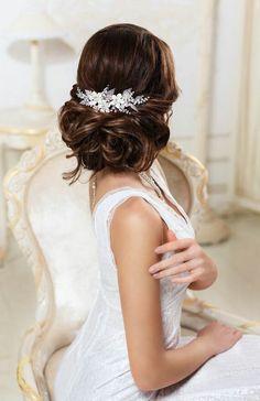 accessoires cheveux coiffure mariage chignon mariée bohème romantique retro, BIJOUX MARIAGE (12)