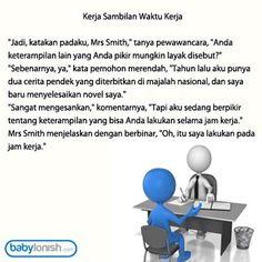 Apakah yang Anda lakukan dengan fasilitas kantor Anda?  Humor dari www.babylonish.com