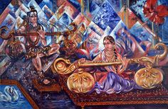 Holiday Exclusive! Enjoy Discount  20%.                  Large Original Art Paintings Contemporary by sadashivarts on Etsy, $2050.00