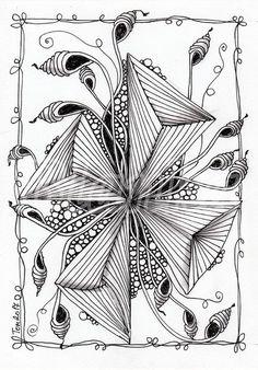 Fabulous Drawing On Creativity Ideas. Captivating Drawing On Creativity Ideas. Zentangle Drawings, Doodles Zentangles, Doodle Drawings, Tangle Doodle, Zen Doodle, Doodle Art, Zantangle Art, Zen Art, Doodle Patterns