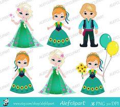 Ana Frozen, Frozen Film, Disney Frozen, Walt Disney, Frozen Fever Party, Frozen Birthday Party, Birthday Clipart, Childrens Party, Art Images