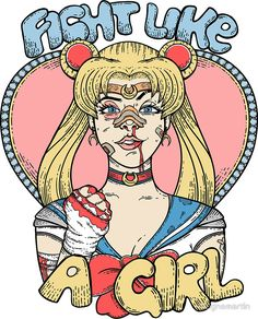 Sailor Moon- Fight Like a Girl par Seignemartin