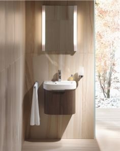 Duravit Happy D. vanity, available as one large drawer
