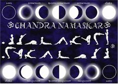 Flow into your yin energy (cooling and soothing practice) with chandra namaskar...