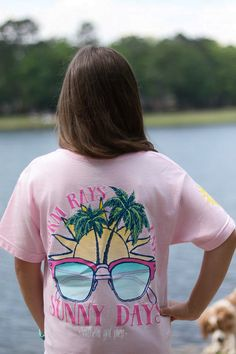 Southern Girl Prep | Warm Rays and Sunny Days t-shirt | long and short sleeve | youth and adult sizes | shop for the latest in preppy apperal