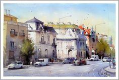 "Amit Kapoor, Budapest 22""X15"""
