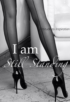 Ok, the heels are not that high but you get the point... :)