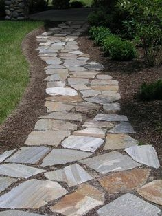 flagstone path google search
