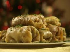 Gołąbki z kaszą gryczaną Lunch Recipes, Cooking Recipes, Polish Recipes, Polish Food, Vegetarian Lunch, Christmas Eve, Polish Christmas, Xmas, Food And Drink