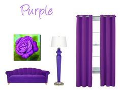 """""""Purple"""" by lillieshade on Polyvore featuring interior, interiors, interior design, home, home decor, interior decorating and Home Expressions"""