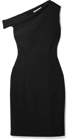 By Malene Birger - Dessa Off-the-shoulder Stretch-ponte Dress - Black