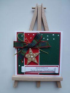 zofiko zaprasza...: 219. Ostatnia kartka dla Inki. Christmas Ornaments, Holiday Decor, Cards, Home Decor, Decoration Home, Room Decor, Christmas Jewelry, Maps, Christmas Decorations