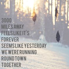 Love this song-3000miles