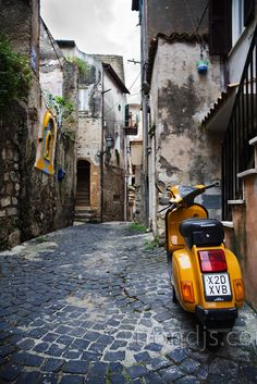 Italian Street Scene - Terracina, Italy by trondjs, via Flickr