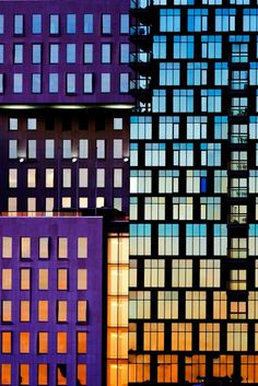 Buildings of The Barcode Project are pictured at sunset in Oslo, Norway. The row of new high-rise buildings are part of a redevelopment on former dock and industrial land in central Oslo, due to be completed in 2014. #architecture ☮k☮