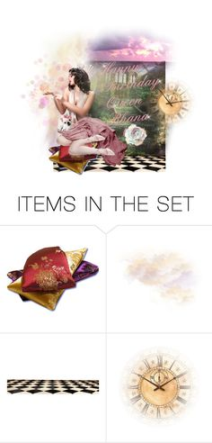"""""""Happy Birthday My Friend Queen Rhana"""" by confusgrk ❤ liked on Polyvore featuring art"""