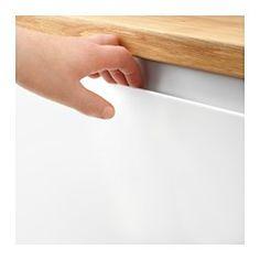 IKEA - VOXTORP, Dörr, 40x80 cm, , Köksluckan VOXTORP har en slät, matt yta och integrerade handtag som gör att ditt kök får ett stilrent, öppet och modernt utseende.Handtagets djupa grepp gör det enkelt att öppna dörren.Dörrens släta, matta yta känns behaglig mot din hand varje gång du öppnar och stänger dörren.25 års garanti. Läs om villkoren i garantibroschyren.Du kan välja att montera luckan högerhängd  eller vänsterhängd.