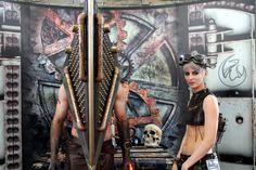 Steampunk inspired Pyramid Head at Salt City SteamFest 2014!