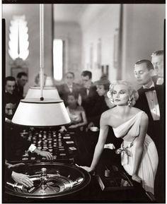Sunny Harnett - Casino Le Touquet - 1954 © Richard Avedon