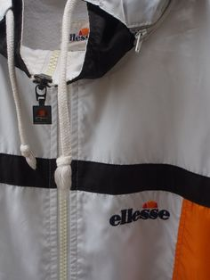 3092f9066df 25% SALE ELLESSE Women Jacket Large Vintage by REPEATFASHIONSTORE Workout  Trainer
