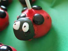 Ladybug Cake Pop