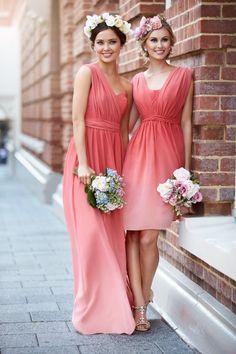 Sorella Vita Designer Series: Ombre Sunrise Bridesmaid Dress #Ombre #bridesmaid