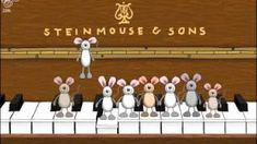 Happy Birthday Musical Mice, ...play this on birthdays and sing along! Your birthday kid will love it!