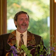 Rev. Peter Friedrichs, lead minister at Unitarian Universalist Church of Delaware County, Media, PA