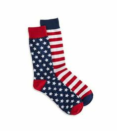 American Eagle Outfitters Americana Crew Sock
