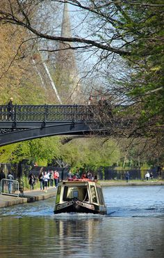 London, Regents Park & Marylebone, Regent's Canal