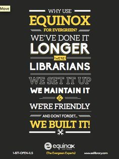 This poster was based off of a popular ad campaign we did for Equinox software. We love the typography . #typography #design #equinoxsoftware #inwardsolutions
