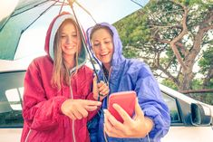 Find your favorite raincoat style in our article! Rainy Weather, Rainy Days, Raincoats For Women, Your Favorite, Rain Jacket, Windbreaker, Finding Yourself, Style, Raincoat