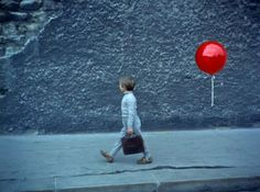 Le Ballon Rouge, 1956. Saw this as a child 50 years ago and have never forgotten it's magic.
