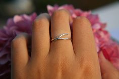ETERNITY RING · sterling silver ring · made to order · sterling · stacker · ring · handmade ring