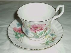 Royal Albert china  vintage Royal Albert  teacup by DivaDecades