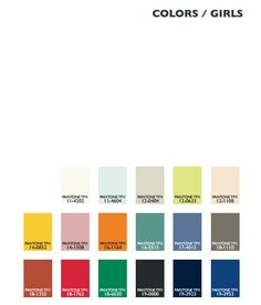 Kids Color Trends for SS 2014