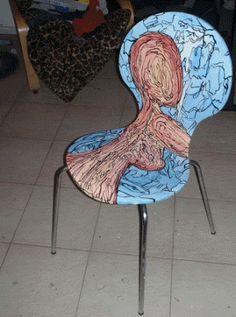 dwaalhaas: Dwaalhaas stoel